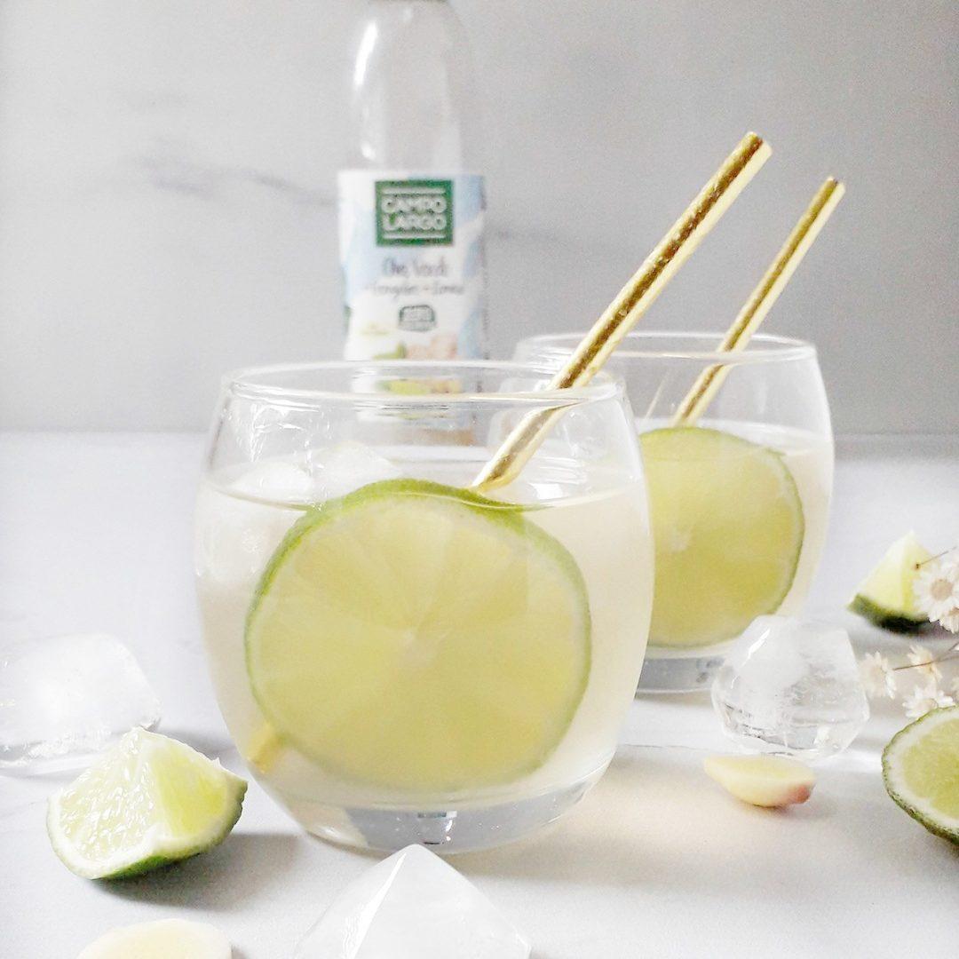 Copo com limão