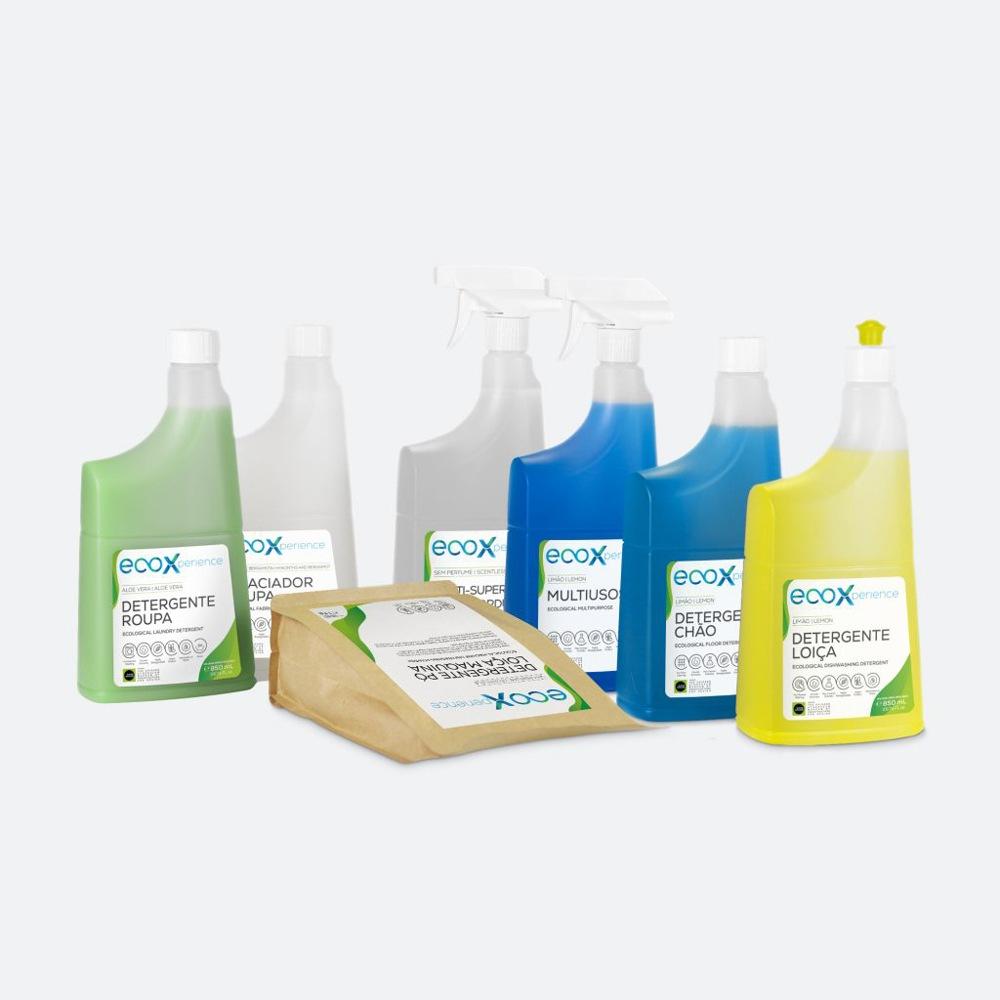 Kit de limpeza Starter da EcoX