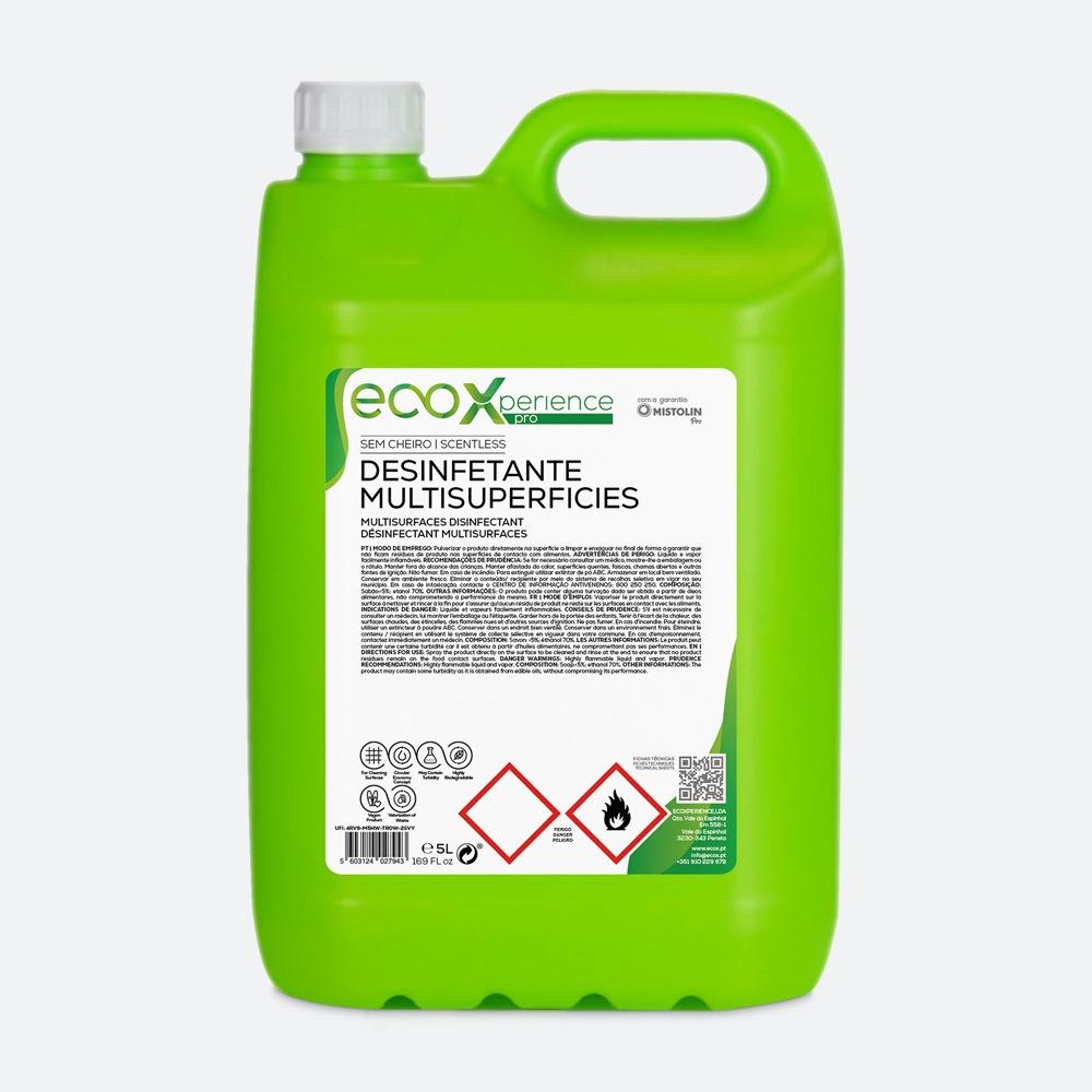 Desinfetante multisuperfícies da EcoX Pro