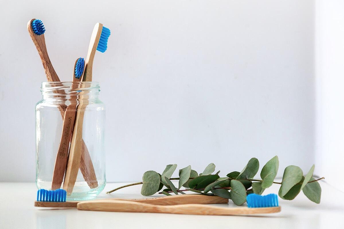 Escovas em bambu