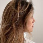 Joana Moreira de perfil